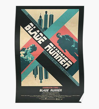 Ridley Scott's Blade Runner Film Poster Poster