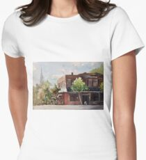 Plein air painting of Cary, North Carolina (USA) T-Shirt