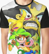 Crash Bandicoot Graphic T-Shirt