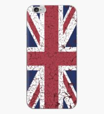 Vintage look Union Jack Flag of Great Britain iPhone Case