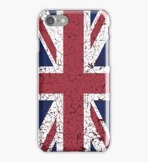 Vintage look Union Jack Flag of Great Britain iPhone Case/Skin