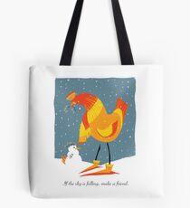 Chicken Friends Tote Bag