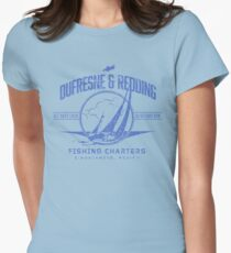 Dufrense and Redding Fishing Chrters Womens Fitted T-Shirt