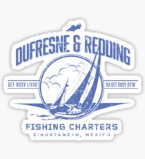 Dufrense and Redding Fishing Chrters Sticker