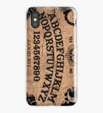 Classic ouija board iPhone Case/Skin