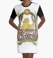 The Snuggly Duckling Tap Room Graphic T-Shirt Dress