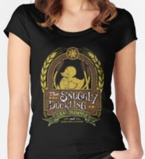 The Snuggly Duckling Tap Room Women's Fitted Scoop T-Shirt