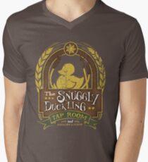 The Snuggly Duckling Tap Room Men's V-Neck T-Shirt