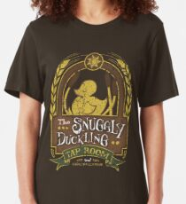 The Snuggly Duckling Tap Room Slim Fit T-Shirt