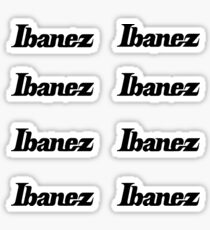 ibanez Sticker