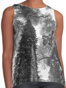 Look up - and up and up! Contrast Tank