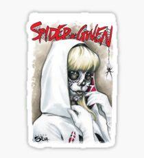 Day of The Dead Spider Gwen Sticker