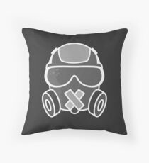Mute Throw Pillow