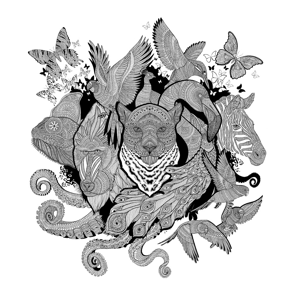 Animal Explosion by RichardMerritt