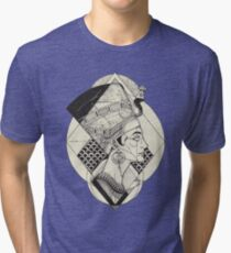 Nefertiti. Tri-blend T-Shirt