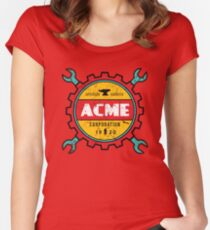 ACME Women's Fitted Scoop T-Shirt