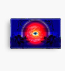 Worlds Eyes are of a Child Canvas Print