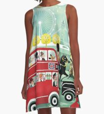 Happy London A-Line Dress