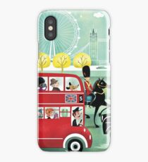 Happy London iPhone Case/Skin