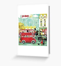 Happy London Greeting Card