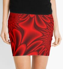 Red Petals Mini Skirt