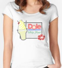 Dole Whip Float Women's Fitted Scoop T-Shirt