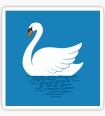 Just The One Swan Actually Sticker