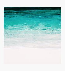 Shades of the Ocean Photographic Print