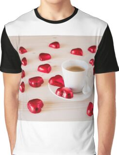 Chocolate hearts for a romantic day Graphic T-Shirt