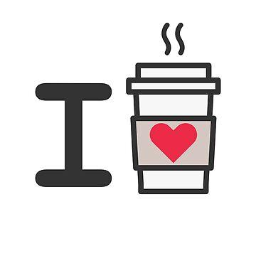 I love Coffe by guaxinim