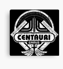 Centauri Games Canvas Print