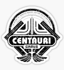 Centauri Games Sticker