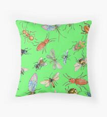 Creepy crawlies: Bold Throw Pillow
