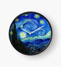Sternennacht von Van Gogh Uhr