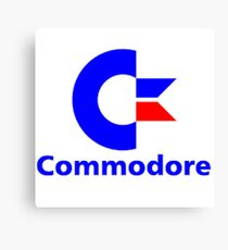 Commodore Classic Logo Clothing & Merchandise Canvas Print