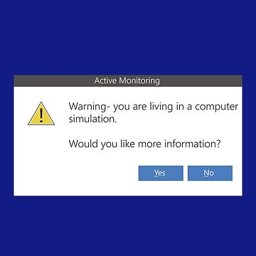 Warning Message - Windows pop-up Computer simulation by KinkyKaiju