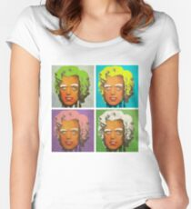 Oompa Loompa set of 4 Women's Fitted Scoop T-Shirt
