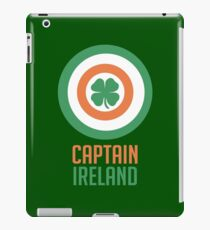 Captain Ireland – America, Shield iPad Case/Skin