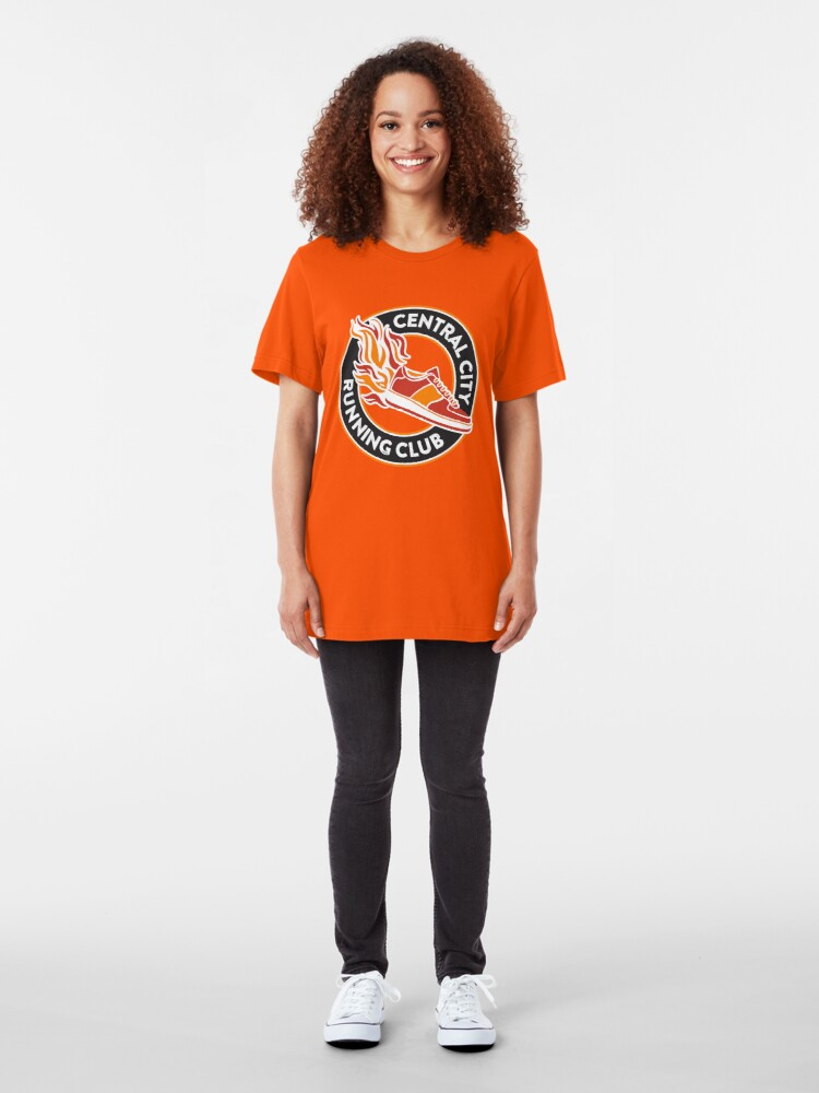 Alternate view of Central City Running Club Slim Fit T-Shirt