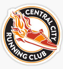 Central City Running Club Sticker