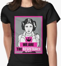 We Are The Resistance Women's Fitted T-Shirt