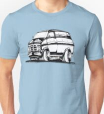 CF Bedford van 1971 Unisex T-Shirt