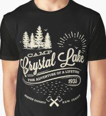 Camp Crystal Lake Graphic T-Shirt