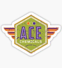 A.C.E. Chemicals Sticker