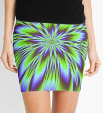 Trippy Burst Mini Skirt