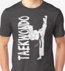 Taekwondo High Kick Boy 2 - Korean Martial Art Unisex T-Shirt