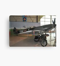 Spitfire & Vincent Canvas Print