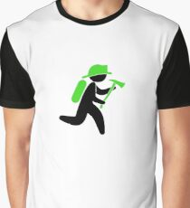 A fireman with an ax Graphic T-Shirt