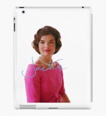 Jackie Kennedy iPad Case/Skin