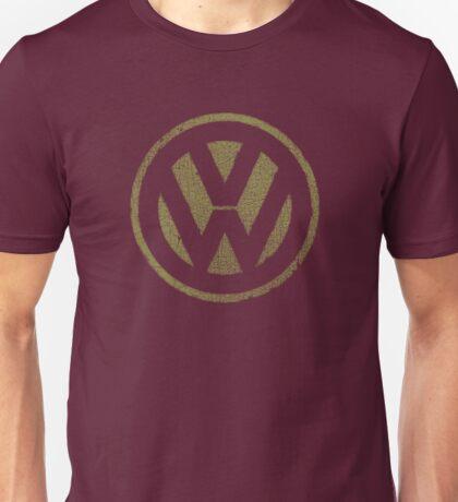 Vintage Look Volkswagen Logo Design Unisex T-Shirt